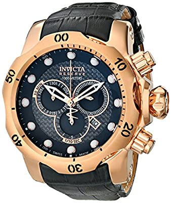 Invicta Men's 15466 Venom Analog Display Swiss Quartz Grey Watch
