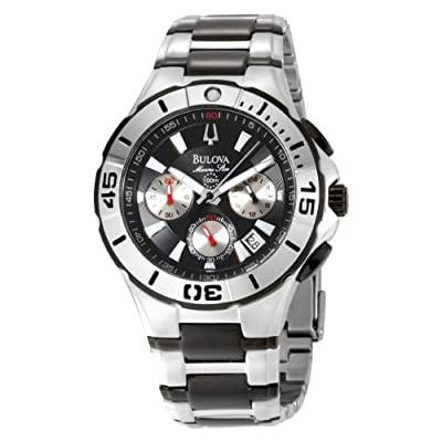 Bulova Men's 98B013 Marine Star Diver's Chronograph Watch