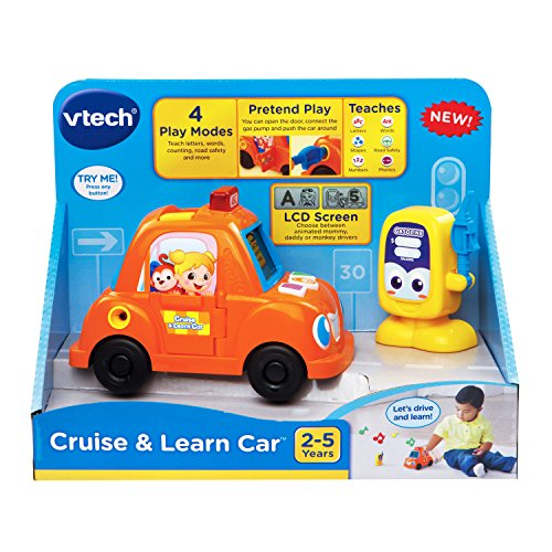 VTech Cruise And Learn Car Toys Games Toys Pretend Play