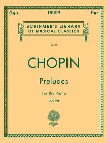 Chopin - Preludes for the Piano, Vol. 34 (Chopin Preludes compare prices)