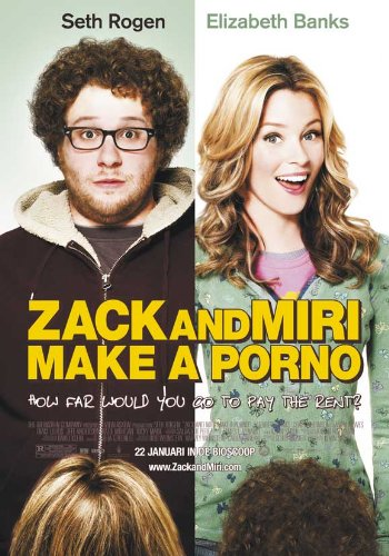 Zack and Miri Make A Porno (2008) 27 x 40 Movie Poster - Dutch Style A