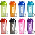 ProElite Neon Smart Blender Bottle Shaker Cup Shake 600ml - 700ml