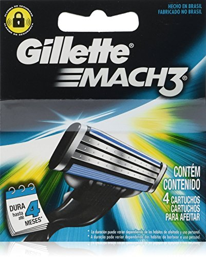 Gillette Mach 3 Razor Refill Cartridges, 8 Count (Mach 3 Razor Cartridges compare prices)