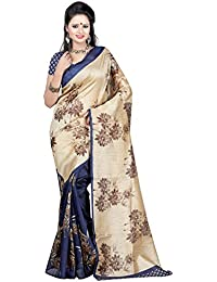 Winza New Bhagalpuri Silk Cotton Partywear Printed Saree For Women