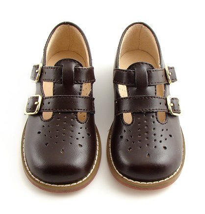 Footmates Danielle 2 Mary Jane (Toddler/Little Kid),Brown Smooth,6.5 M Us Toddler front-872126