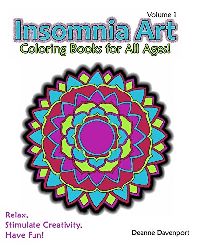 Image for Insomnia Art Coloring Book