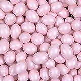 Light Pink Shimmer Chocolate Covered Jordan Almonds 1lb Bag