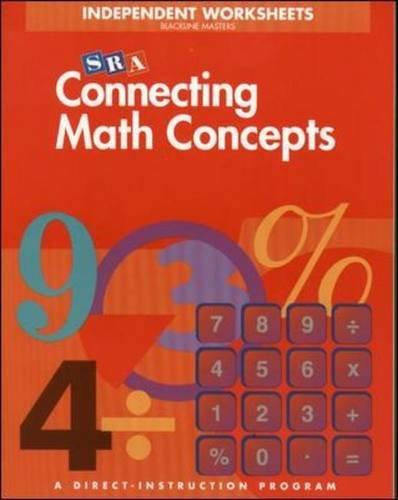 Blackline Masters: Blm Independent Wk Lva Conn Math Concept PDF