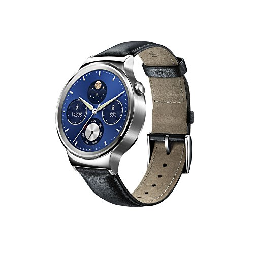 huawei-w1-stainless-steel-classic-smartwatch-with-leather-strap