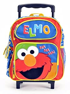 Sesame Street Oscar Plush Backpack and Mickey Bifold Wallet Set