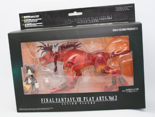 Final Fantasy VII Play Arts. Vol. 2 Action Figure - Red XIII & Cait Sith (Yuffie Figure compare prices)