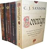 C. J. Sansom C J Sansom Collection 4 Books Set RRP : 31.96 (Dissolution,DarkFire, Sovereign, Revelation) (Shardlake)