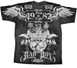 "BAD BOY CLOTHING ""CRISTA BRASILLIAN"" MMA SHIRT SIZE X-LARGE"