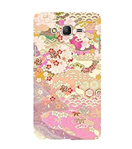 Floral Art 3D Hard Polycarbonate Designer Back Case Cover for Samsung Galaxy On7 Pro :: Samsung Galaxy ON 7 Pro