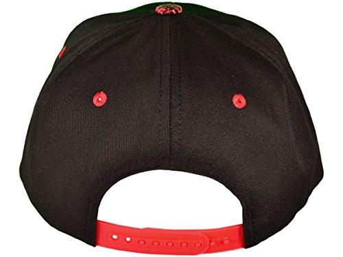 Wholesale Cotton Blank Flat Bill Leopard Print Snapback Hats (Black Red) -  21342 f072575091d4
