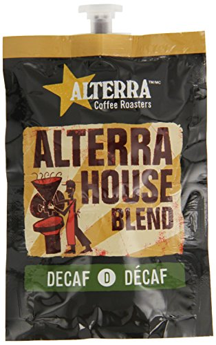 Flavia Alterra Coffee, House Blend Decaf, 20-Count Fresh Packs (Pack Of 5)