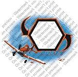 1/4 Sheet ~ Disney Planes Photo Frame Birthday ~ Edible Image Cake/Cupcake Topper!!!