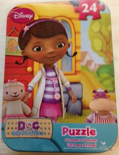 Doc McStuffins Mini Travel Puzzle in Tin - 24 Pieces