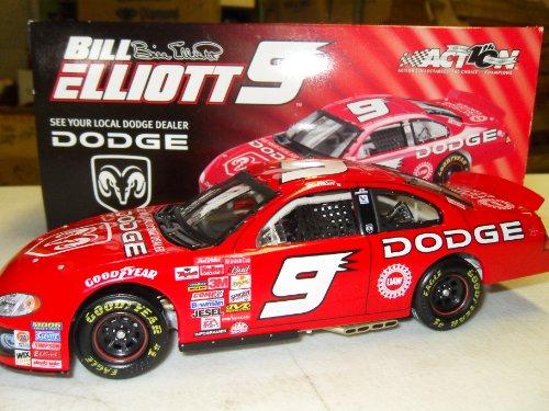 Bill Elliott Dodge 2002 #9 Action Collectibles 1:24 Die-Cast Stock Car by NASCAR