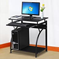 Topeakmart Computer Desk with Pullout…