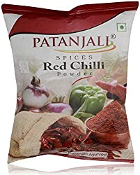 Patanjali Spice Powder - Red Chilli 200g Pouch