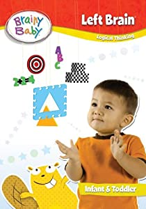 Brainy Baby Left Brain DVD