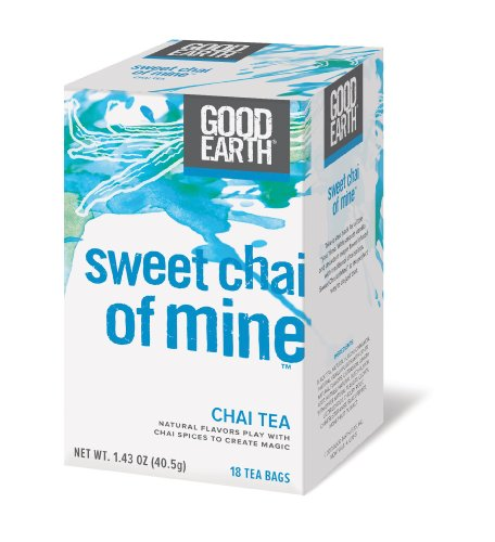 Good Earth Sweet Chai of Mine Chai Tea, 18 Count Tea Bags (Pack of 6) (Good Earth Vanilla Chai Tea compare prices)