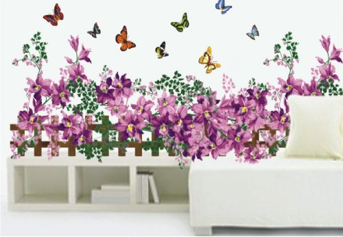 Sticker papillons jusqu 55 pureshopping - Stickers muraux decollable ...