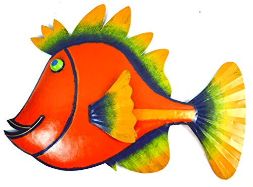 Fish Metal Wall Art Unique And Colorful Art For Your