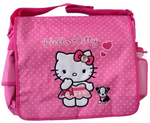 Sanrio Hello Kitty Messenger Bag – Kitty & Puppy School Bag