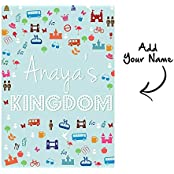 WALL STICKERS FOR KIDS ROOM - PERSONALIZED KIDS ROOM DÉCOR - Waterproof And Non Tearable - A3 (11.5 IN X 16 IN... - B01HO46GPW