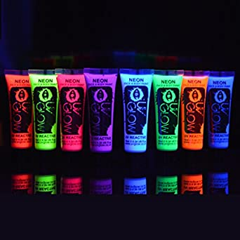 8 x 10ml uv bodypaint k o ist in ihrem einkaufwagen hinzugef gt worden menge 1. Black Bedroom Furniture Sets. Home Design Ideas