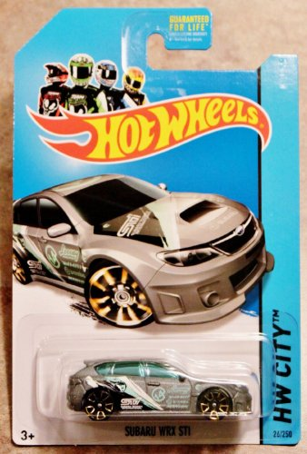 2014 Hot Wheels Hw City Treasure Hunt - Subaru WRX STI - [Ships in a Box!] - 1