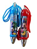 Mickey Clubhouse Short Fat Chubby Pen with Rope