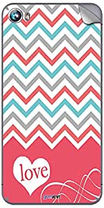 GsmKart MCF4 Mobile Skin for Micromax Canvas Fire 4 (Pink, Canvas Fire 4-469)