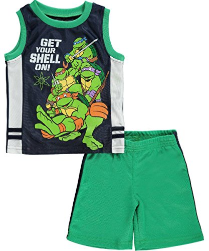 "TMNT Baby Boys' ""Get Your Shell On"" 2-Piece Outfit"
