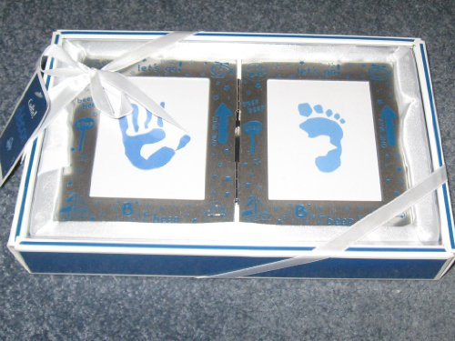 Cudlie! Let's Go! My First Handprint and Footprint Frame Set - 1