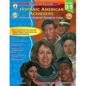 CARSON DELLOSA HISPANIC-AMERICAN ACHIEVERS