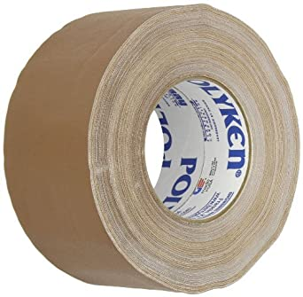510 Goma Premium Grade de Gaffer Tape, 50m Largo x 72mm Ancho, Brown