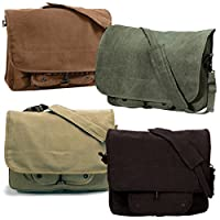 Rothco Vintage Canvas Paratrooper Bag from RSR Group, Inc