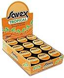 Savex Tropical Lip Balm Jar Display Case Pack 24