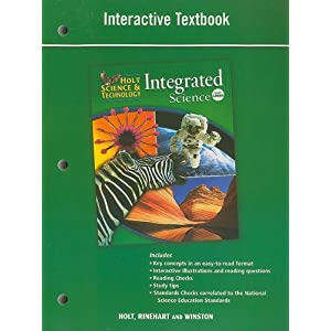 Holt Science & Technology Integrated Science, Level Green ...