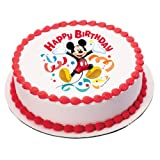 Mickey Mouse Clubhouse Streamer Edible Image Cake Topper