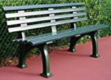 60 in. Courtside Bench (Green)