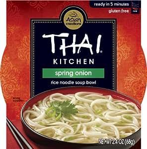 Amazon.com : Thai Kitchen Spring Onion Rice Noodle Soup Bowl, 2.4