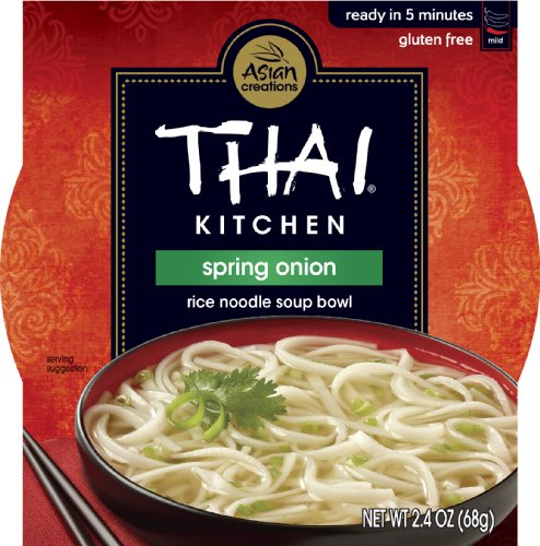 Thai Kitchen Spring Onion Rice Noodle Soup Bowl, 2.4-Ounce (Pack Of 36)