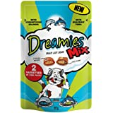 Dreamies Mix Cat Treats Salmon and Tuna 60g (Pack of 8)