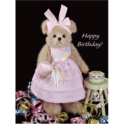 Ivana Party Bearington Bear – Birthday Teddy Bear – FREE SHIPPING! Ivana Party comes dressed in her finest birthday party dress.
