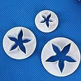 Joylive 3 X Pentagram Five Star Cake Cookie Fondant Cutter Sugarcraft Decorating Tools