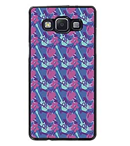 PrintDhaba Pattern D-5331 Back Case Cover for SAMSUNG GALAXY E5 (Multi-Coloured)